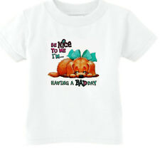 YOUTH KIDS T-SHIRT Puppy dog doggy Be nice to me I'm having a bad day (k-189)