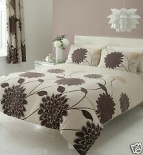 8 Piece Duvet Cover Set With Matching Curtains and FITTED Sheet ! KING SUPERKING