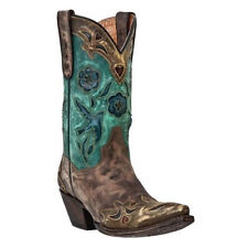 DAN POST Ladies Vintage Bluebird Western Boots DP3544 NIB