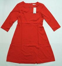 NEW UNIQLO WOMEN PONTE 3/4 SLEEVE DRESS Red (075765)