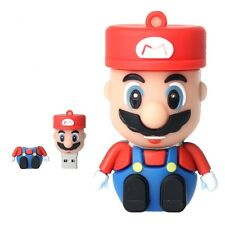 Cartoon Mario USB 2.0 Enough Memory Stick Flash pen Drive 4GB 8GB 16GB 32GB BP16