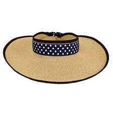 Polka Dot Roll and Pack Visor by hat.a.girl - NH203
