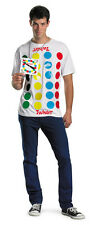 TWISTER ALTERNATIVE ADULT MENS COSTUME Games Multicolor Theme Halloween Party