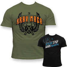 MMA T-SHIRT KRAV MAGA COMBAT HERREN MEN'S BAUMWOLLE COTTON NEU NEW FIGHT