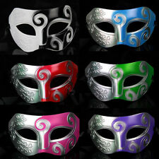 New Mens Carnival Masquerade Roman Greek Party Mask Fancy Dress  Ball Gladiator
