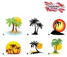 Nail Decals Art Set of 20 - Palm Trees
