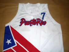 CARLOS ARROYO TEAM PUERTO RICO JERSEY WHITE NEW - ANY SIZE XS - 5XL