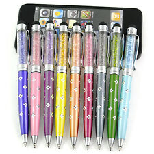 Print Stylus Crystal Touch Screen Pen For iPhone iPad Tablet PC Samsung HTC