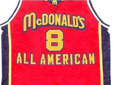 KOBE BRYANT MCDONALD ALL AMERICAN JERSEY MCDONALD'S RED NEW ANY SIZE XS - 5XL