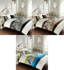Scroll Duvet Covers With Pillow Cases Quilt Cover Bedding Set Single Double King