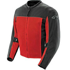 Joe Rocket Velocity Textile Motorcycle Riding Jacket - Red