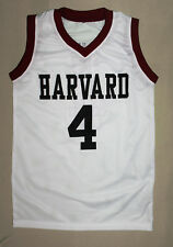 JEREMY LIN HARVARD JERSEY CHINESE AMERICAN WHITE NEW ANY SIZE XS - 5XL