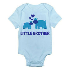 LITTLE BROTHER - Family / Boy / Sibling / Novelty / Fun Themed Baby Grow/Suit