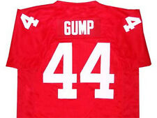 FORREST GUMP MOVIE JERSEY SEWN RED  QUALITY NEW    ANY SIZE XS - 5XL