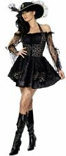 Fancy Dress Sexy Swashbuckler Costume Ladies/Womens Sizes 8-18