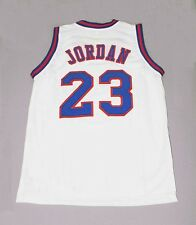 TUNE SQUAD SPACE JAM JERSEY WHT ANY SIZE CUSTOM NAME #, S - 5XL
