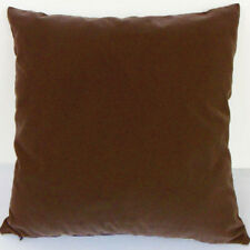 Root beer Suede Like Velvet Cushion Cover Case Made to Order #u17-cc-tp-33