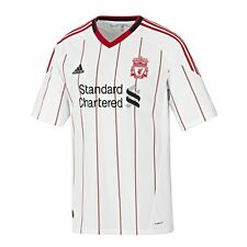 Authentic Junior adidas Liverpool Away Shirt 2010- 2011, Age: 11-12, 13-14 Years