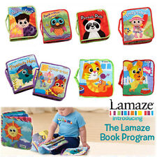 Lamaze Baby Kid Funny Soft CLOTH BOOK Infant Intelligence Development Toy - New