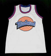 MICHAEL JORDAN TUNE SQUAD SPACE JAM MOVIE JERSEY WHITE NEW ANY SIZE XS - 5XL