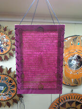 FUNKY QUALITY HAND MADE NEPALESE SCRIPT PAPER LANTERN RRP $15 WHOLESALE OUTLET