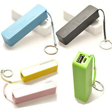 Power Bank External Portable 2600 mAh USB Battery Charger For iPhone Samsung 5 4