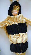 NWT GYMBOREE HALLOWEEN BUMBLEBEE ONE PIECE HOODED BUNTING COSTUME WINGS ON BACK