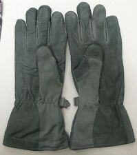 MILITARY MASLEY CWF COLD WEATHER FLYERS GLOVES GORE-TEX NOMEX SAGE VAR SIZES NEW