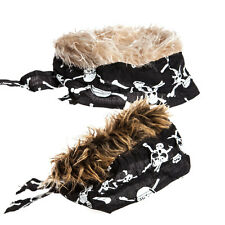 Flair Hair Bandana Brown Blonde Wig Fake Hair Disguise New Look Novelty Gift