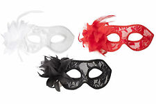 Hand Made High Fashion Lace Mask Masquerade Venetian Fancy Dress Dance Weddings