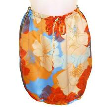 Bnwt Women's French Connection 100% Silk Floral Skirt Fcuk RRP£55 New