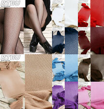 Sexy Fishnet Net Mesh Tights Pantyhose Red Pink Teal Purple Blue BeigeWhite