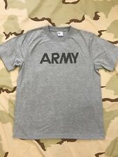 US ARMY SHORT SLEEVE PT T-SHIRT FITNESS IPFU LARGE X-LARGE XX-LARGE NEW