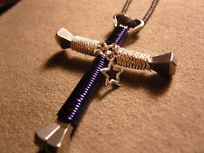 Disciples Cross larger sized  football necklaces