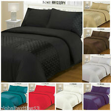 New Ellipse Duvet Cover with Pillow Case Quilt Cover Bedding Set All Sizes