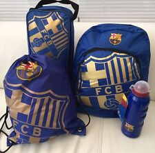 Barcelona Bag.Backpack, Boot Bag, Gym Bag, PE Bag Drinks Bottle School Bag FCB