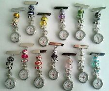 Nurses/Carers/Beauticians European Charm Fob Watch £5.99