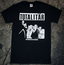 TOTALITAR Allting Är På Låtsas t shirt punk d beat discharge disclose brainbombs