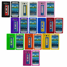NEW Soft Silicone Cassette Tape Style Case For Samsung Galaxy S 3 SIII i9300