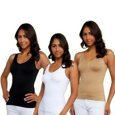 Body Slimming Shapewear Bra Tummy Camisole Cami Slimmer One Piece Shaper Trimmer