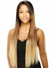 VIRGO BY EQUAL LACE FRONT DEEP INVISIBLE L PART WIG SYNTHETIC HAIR LONG STRAIGHT