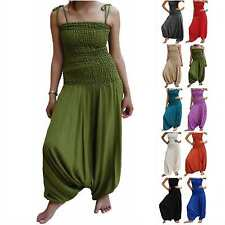 DRESS neck halter layered sleeve chic bodycon pleated casual boho hippy 8 10 M
