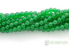 Natural AAA Green Agate Gemstone Round Loose Beads 16'' Strand 4mm 6mm 8mm 10mm