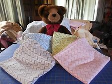 Handmade Baby Receiving/Toddler Blanket! Chevrons!! 100% Cotton Flannel, So Cute