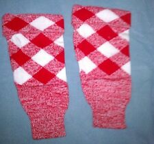 Red and White Checkered Top Hose