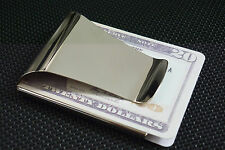 Wholesale Lots Man Blank Double Sided Credit Card Holder Wallet Money Clip Q3