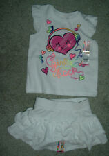 Infant Girls Garanimals 2 piece outfit - skort / top - *NEW* size 12 and 18 mos