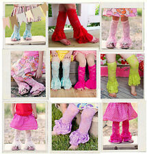 Cute Baby Girl Lace Ruffle Leg Warmers Toddler Summer Leggings Socks