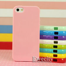 New Colors Silicone Rubber Case Cover Screen Protector Stylus For iPhone SE 5/5S