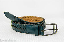 Armani Exchange A|X Dress Belt 100% Authentic 100% Leather New